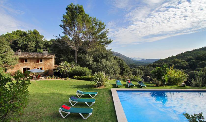 Pool und Finca Mallorca Pollensa für 6 Personen PM 3334