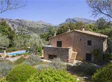 Blick auf die  Finca Mallorca Norden PM 334