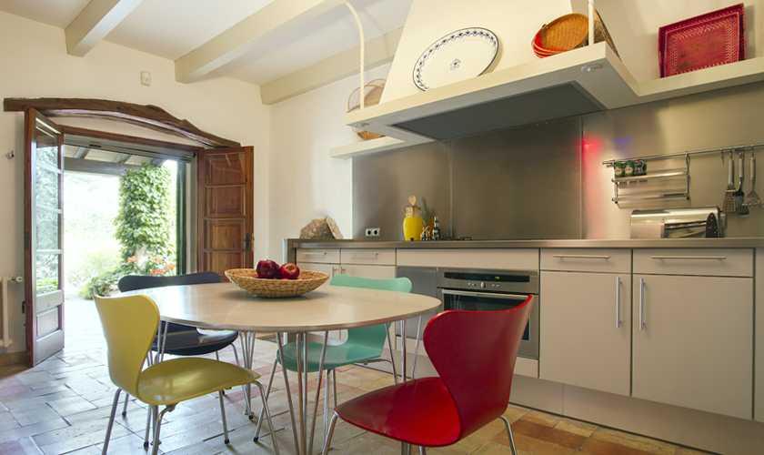 Küche Finca Mallorca Norden PM 334