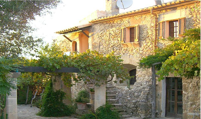 Blick auf die Finca Mallorca Norden PM 336