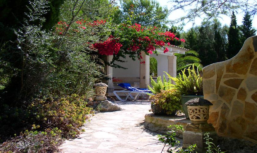 Garten Große Finca Mallorca Norden PM 336