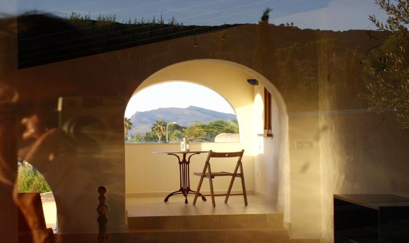 Blick Finca Mallorca Norden PM 336 für 12-22 Personen