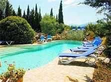 Poolblick Große Finca Mallorca Norden PM 336