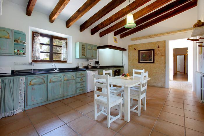 Küche 2 Finca Mallorca  mit Pool im Norden PM 3403 für 6 Personen