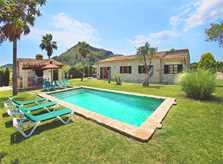 Poolblick 2 und Finca Mallorca PM 3403 für 6 Personen