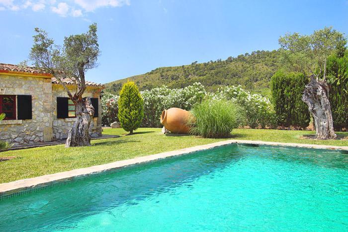 Pool und Finca Mallorca Alcudia PM 3403 für 6 Personen