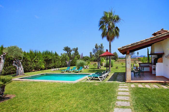 Pool und Finca Mallorca Norden PM 3403