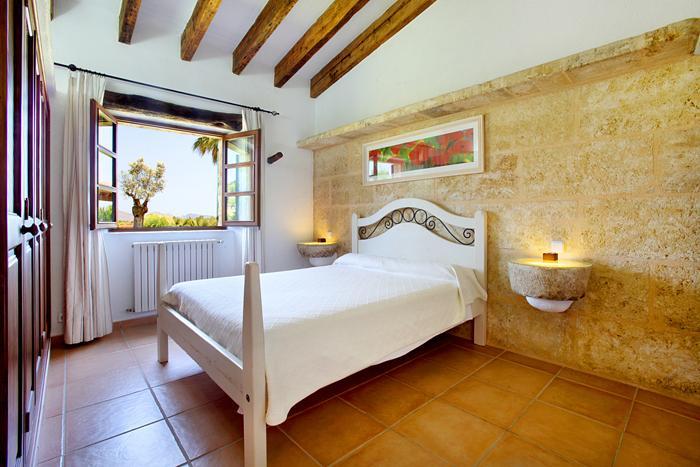 Schlafzimmer Finca Mallorca  mit Pool im Norden PM 3403 für 6 Personen