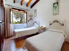 Schlafzimmer 3 Finca Mallorca  mit Pool im Norden PM 3403 für 6 Personen