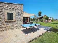Tischtennis Finca Mallorca  mit Pool im Norden PM 3403 für 6 Personen