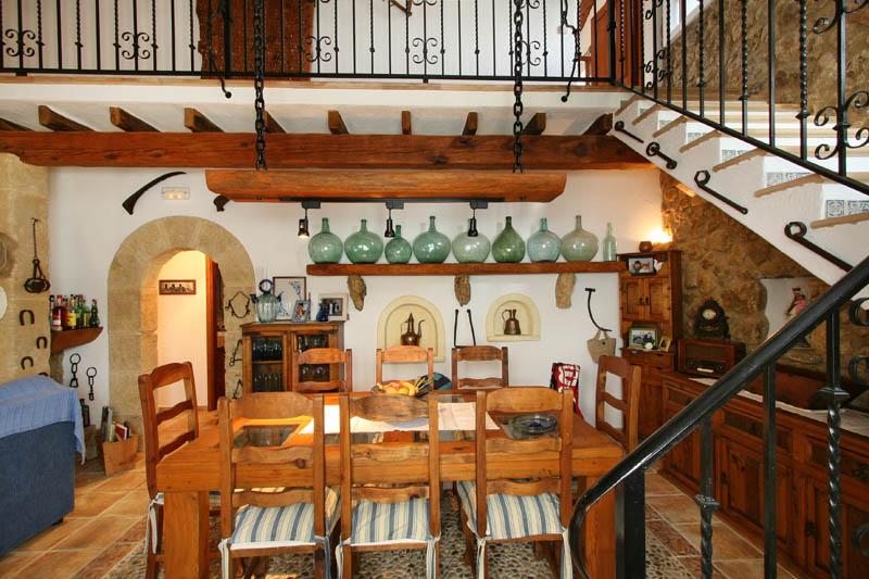 Essplatz Ferienhaus Mallorca Norden PM 3408