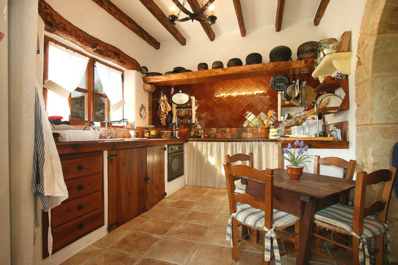 Küche Finca Mallorca Norden PM 3408