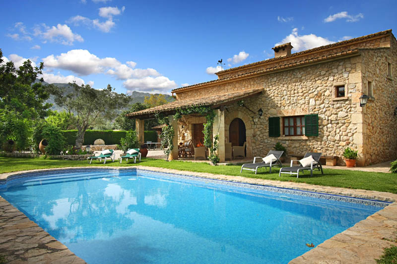 Pool und Ferienfinca Mallorca Norden PM 3408