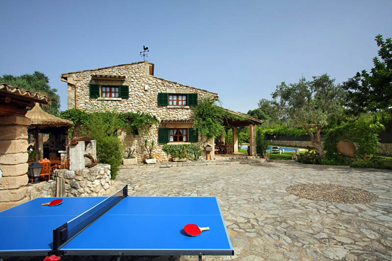 Tischtennis Ferienhaus Mallorca Norden PM 3408