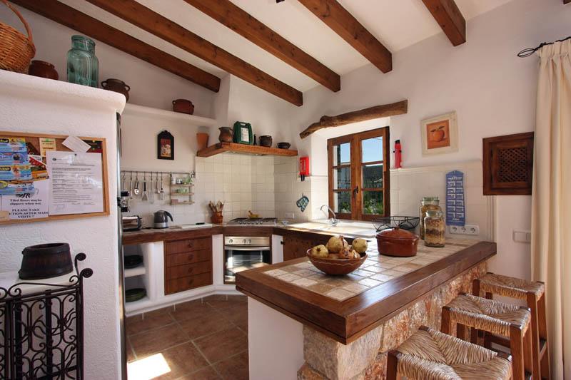 Küche Finca Mallorca mit Pool für 4 Personen PM 3409