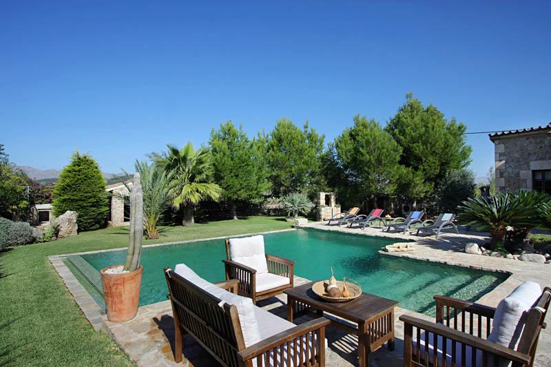 Pool der Finca Mallorca Norden PM 3409