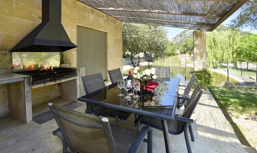 Grillplatz Terrasse  Finca  Mallorca PM 3410