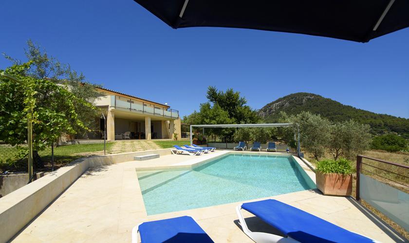 Pool und Ferienvilla Mallorca Norden PM 3410