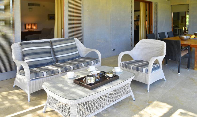 Terrase der Finca Mallorca PM 3410