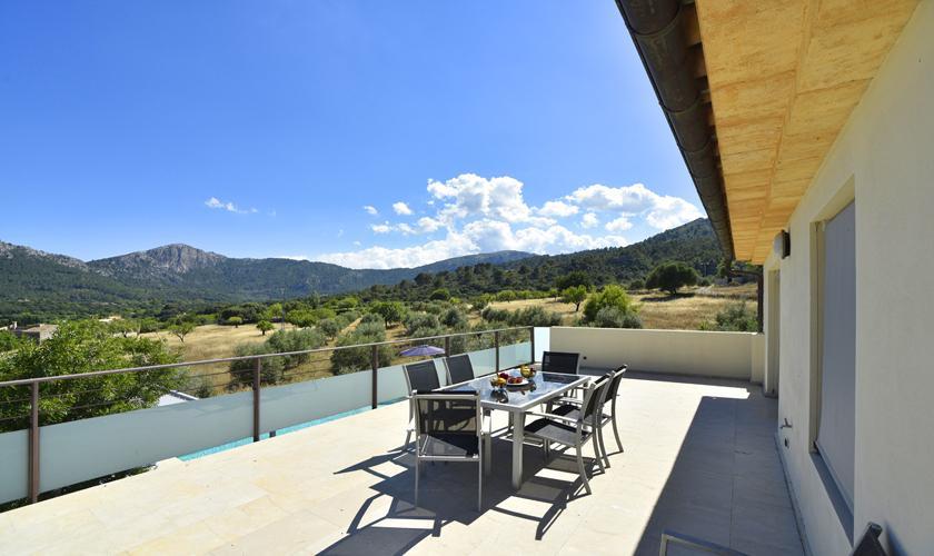 Terrasse oben Finca  Mallorca PM 3410