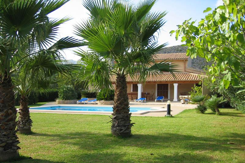 Garten und Finca Mallorca Norden für 6 Personen PM 3411