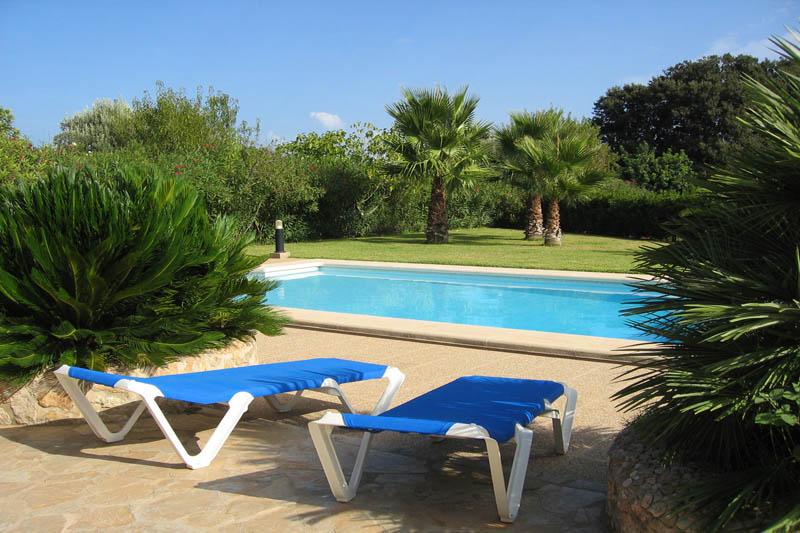 Poolblick Finca Mallorca Norden für 6 Personen PM 3411