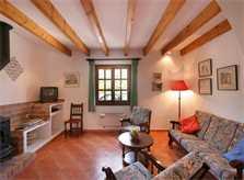 Wohnraum der Ferienfinca Mallorca Norden für 6 Personen PM 3411
