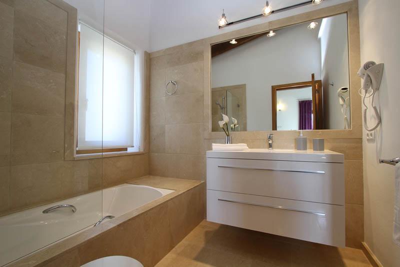 Badezimmer Finca Mallorca Norden für 10 Personen PM 3412