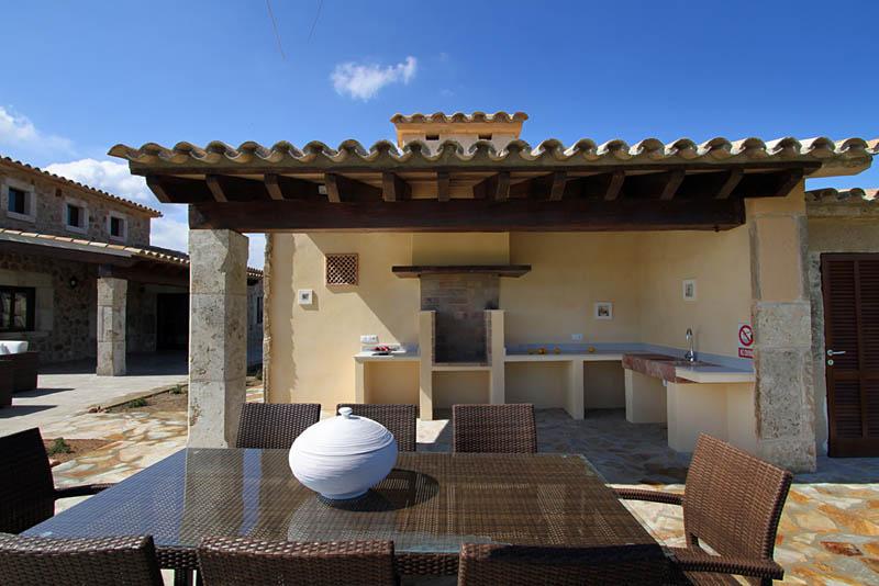 Grillplatz Ferienfinca Mallorca Norden für 10 Personen PM 3412