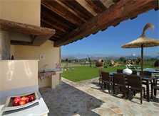 Barbecue Ferienfinca Mallorca Norden für 10 Personen PM 3412