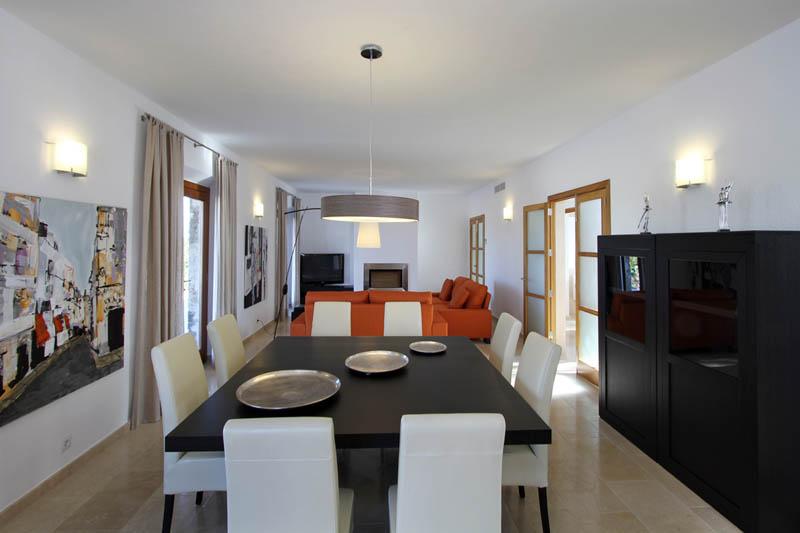 Essplatz Ferienvilla Mallorca Norden für 10 Personen PM 3412