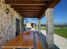 Terrasse Ferienfinca Mallorca Norden für 10 Personen PM 3412