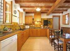 Küche Finca Mallorca Norden PM 3414