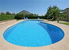 Poolblick Finca Mallorca Norden PM 3414