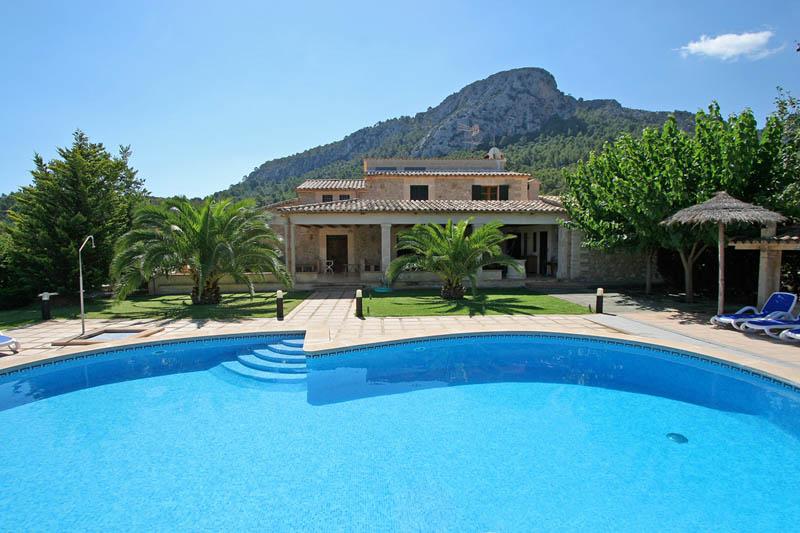 Pool und Finca Mallorca 8 Personen PM 3414