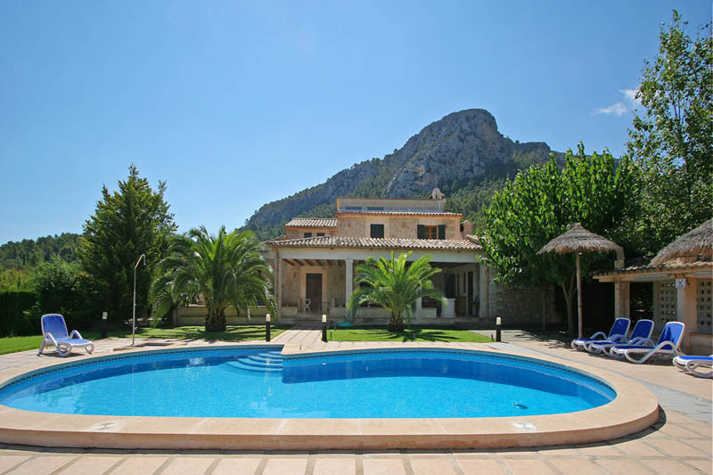 Pool und Finca Mallorca Norden PM 3414