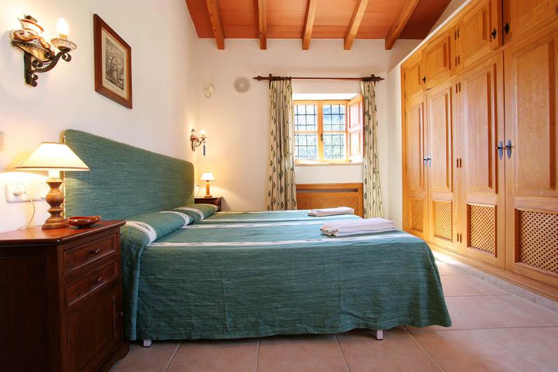 Schlafzimmer Finca Mallorca Norden PM 3414