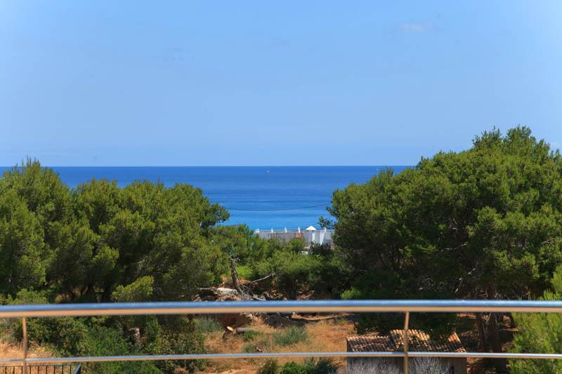 Meerblick von der Poolvilla Mallorca Nordküste PM 3417