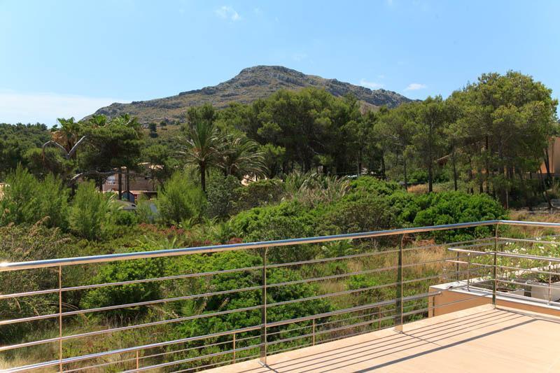 Blick von der Ferienvilla Strandnähe Mallorca Nordküste PM 3417