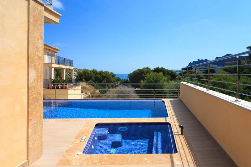 Pool und Meerblick Villa Mallorca PM 3417 Nordküste
