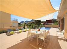 Terrasse der Villa Mallorca PM 3417 Nordküste