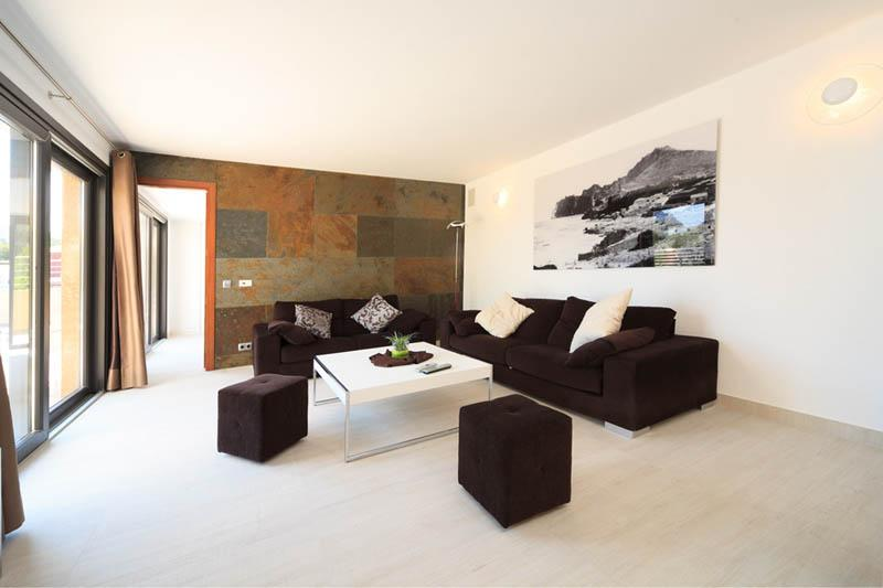 Wohnraum Ferienvilla Mallorca Nordküste PM 3417