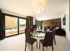 Moderner Wohnraum Ferienvilla Mallorca Nordküste PM 3417