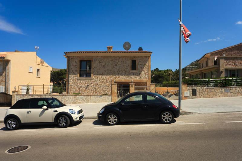 Zufahrt Ferienvilla Strandnähe Mallorca Nordküste PM 3417