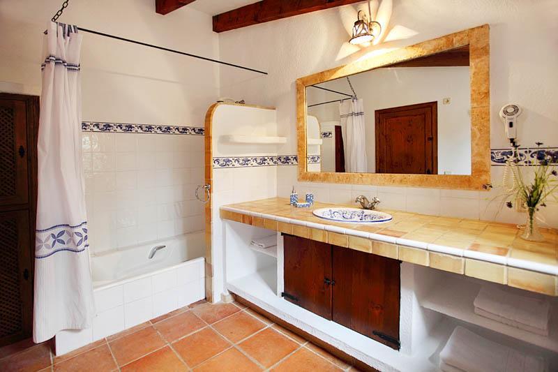 Badezimmer Finca Mallorca PM 3418