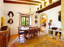 Essplatz Ferienhaus Mallorca Norden PM 3418