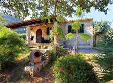 Blick auf die Finca Mallorca PM 3418 für 6-7 Personen
