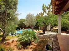 'Garten Finca Mallorca PM 3418 für 6-7 Personen