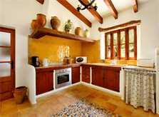Küche Ferienhaus Mallorca Norden PM 3418