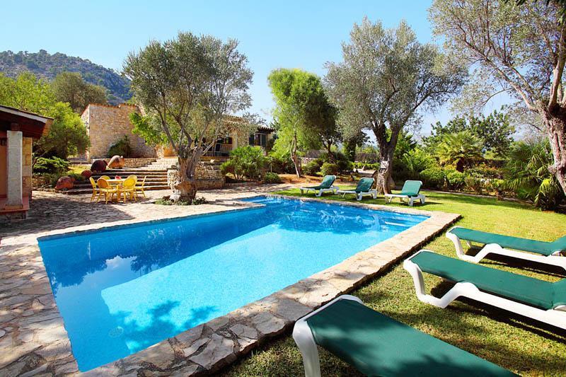 Poolblick Finca  Mallorca Pollensa PM 3418